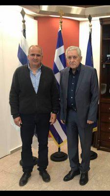 Συνάντηση του Υπουργού Ναυτιλίας και Νησιωτικής πολιτικής κ. Φώτη Κουβέλη με την ΕΣΝΕ